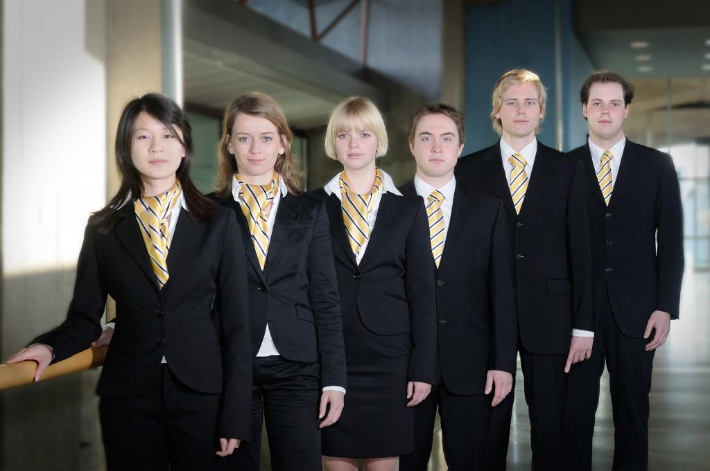 From left: Li'ao Wang, Marieke Oosterbaan, Rianne Bennink, Remi Verhoeven, Jaap Hoelstra, Maarten Klont.