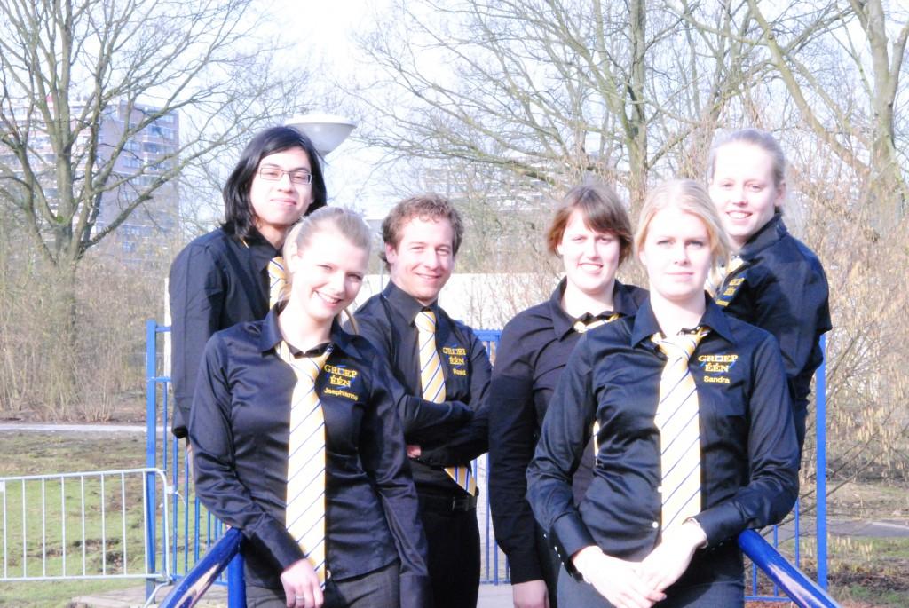 From left: Yos Purwanto, Jeaphianne van Rijn, Roald Damoiseaux, Manon Eijsvogel, Sandra van Tienhoven, Leanne Scheepers.