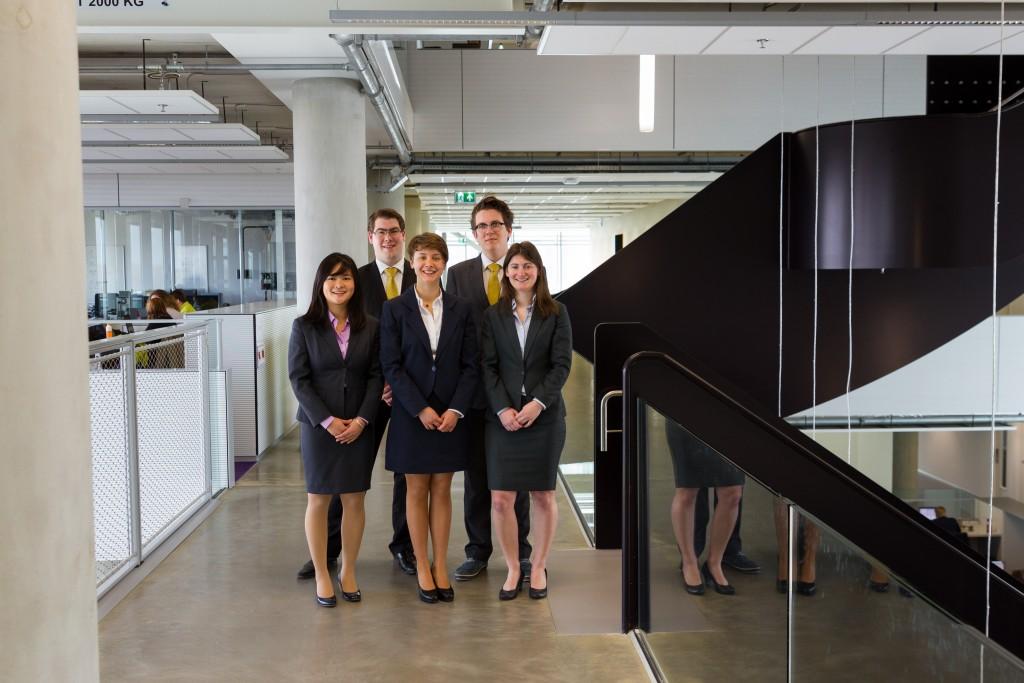 From left: Jiayi Zeng, Mark Fronen, Jard van der Lugt, Bor de Kock, Marijke Valk